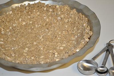 Gluten Free Crumble Crust