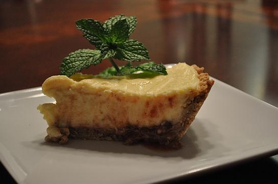 Custard and Jam Pie